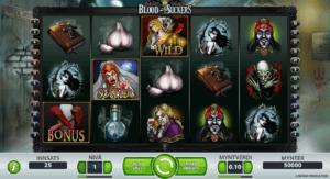 Blood Suckers spilleautomat spilleautomater med høy rtp