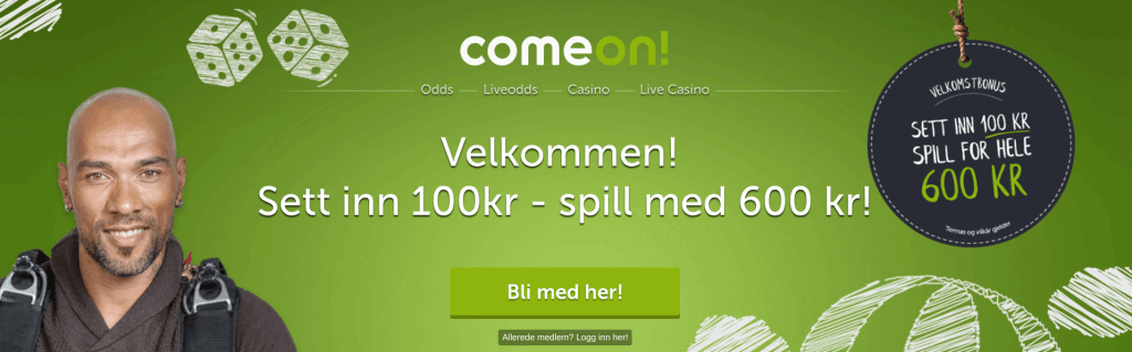 ComeOn! anmeldelse