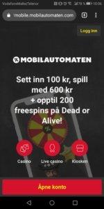 Mobilautomaten mobilcasino