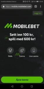 Mobilbet mobilcasino