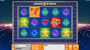 Joker Strike spilleautomat anmeldelse