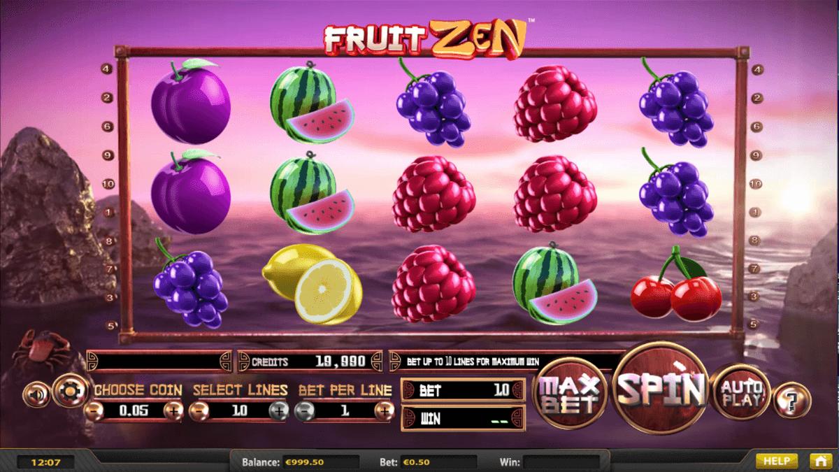 Fruit Zen spilleautomat